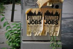 Summertime! Zeit für Ferienjobs!